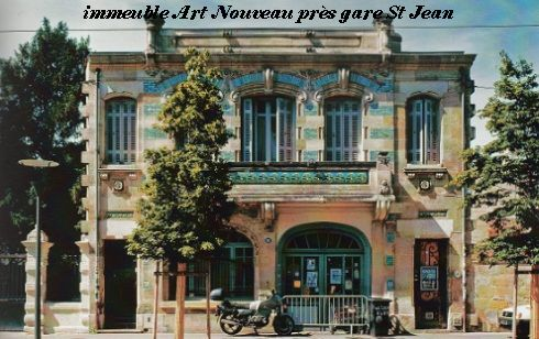Art Nouveau Gare St Jean