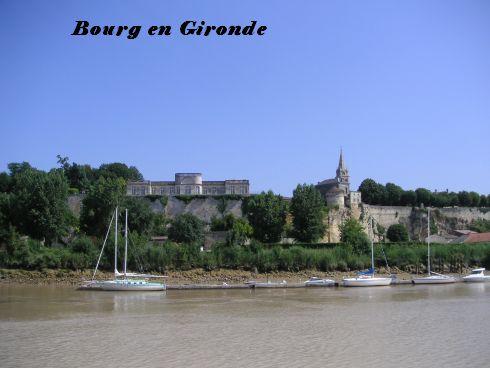 Bourg en Gironde