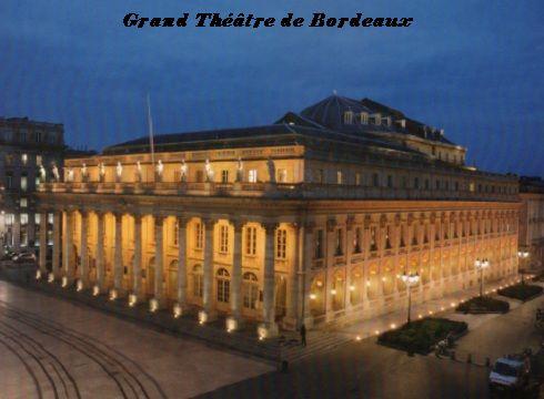 Grand Théâtre Bordeaux