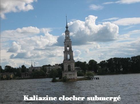 Kaliazine clocher submergé