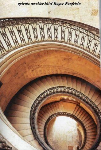 escalier hôtel Boyer-Fonfrède