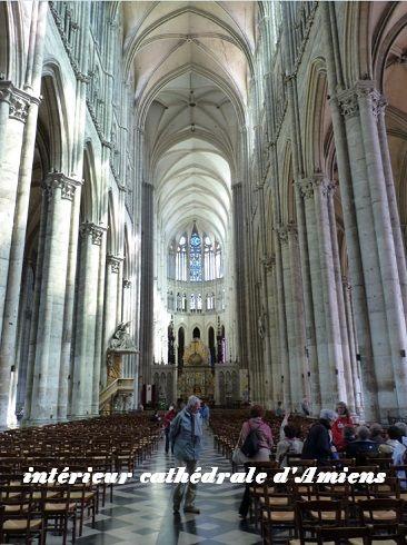 interieur cathédrale Amiens