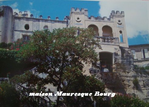 maison mauresque Bourg