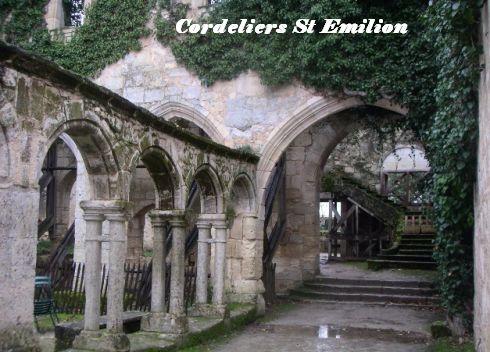Cloitre Cordeliers St Emilion