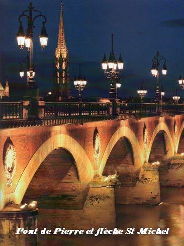 Pont de Pierre et flèche St Michel