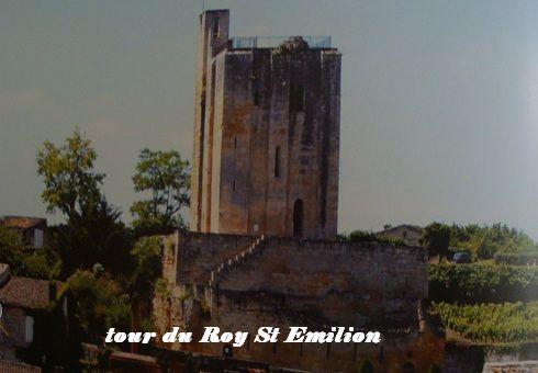 Tour du Roy St Emilion