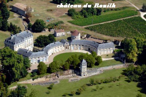 Haute-Gironde-Château du Bouilh Saint André de Cubzac