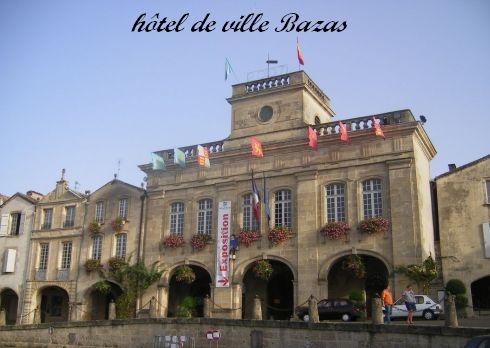 Bazas-hôtel de ville