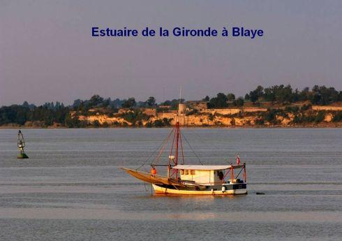 Haute-Gironde-estuaire Gironde à Blaye