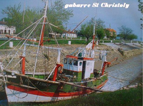 gabarre St Christoly