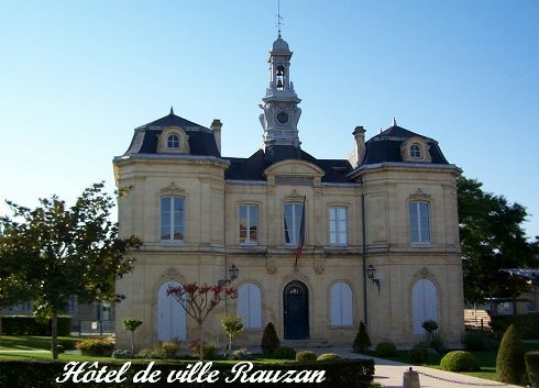 Libournais hôtel de ville Rauzan