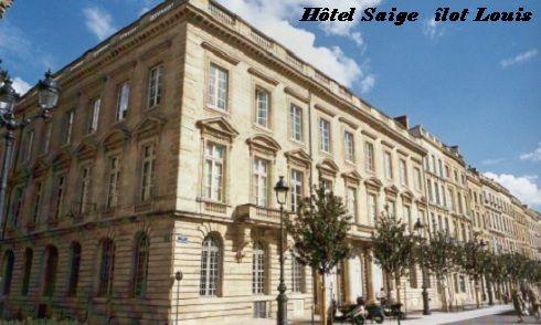 ilôt Louis hôtel Saige