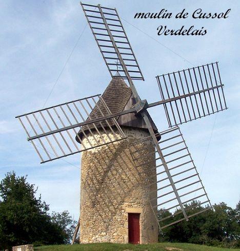 moulin de Cussol