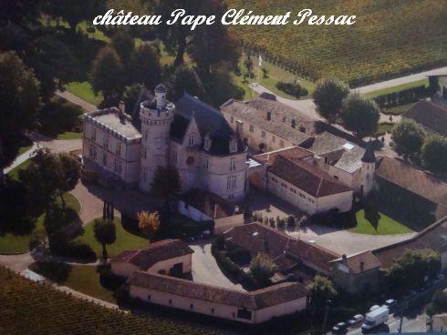 CUB rive gauche château Pape Clement Pessac