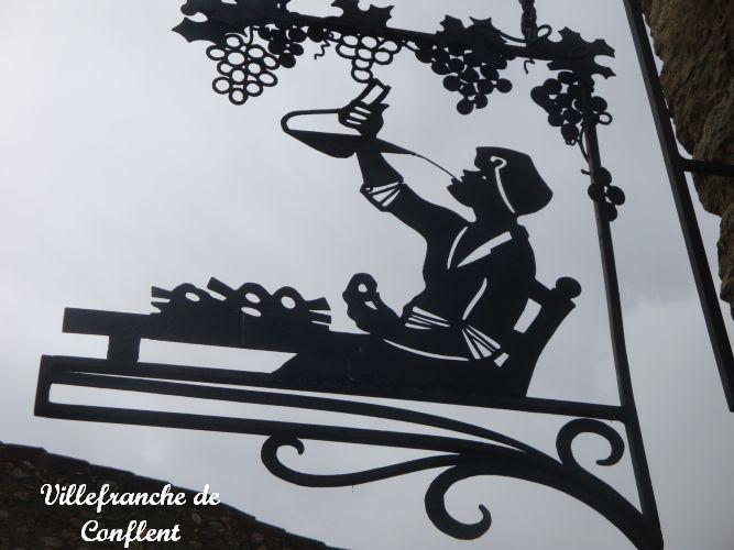 01 enseigne Villefranche de Conflent -