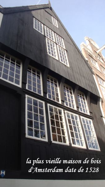006 plus vieille maison bois Amsterdam