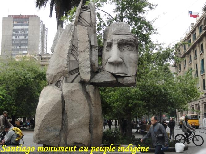 santiago monument au peuple indigene