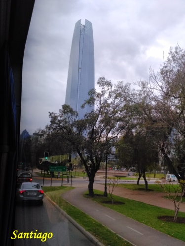 santiago tour