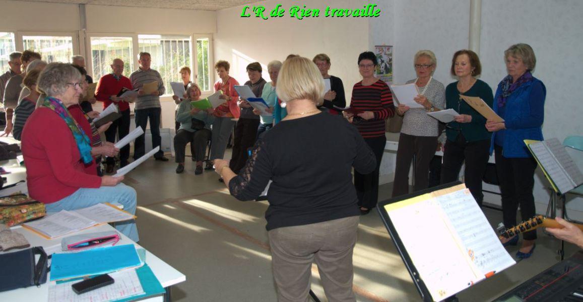 chorale-répétition