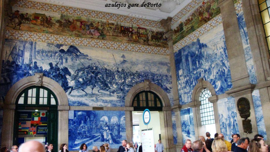 02 azuleros gare de Porto