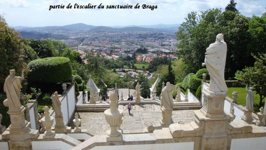 18 Braga un des paliers escalier