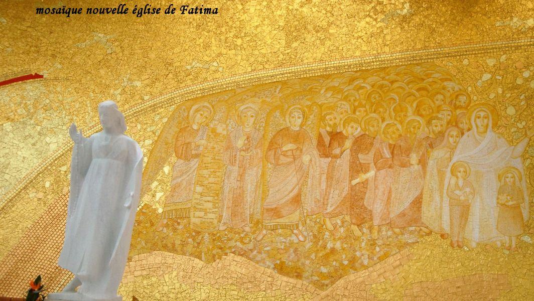 40 Fatima mosaique église moderne