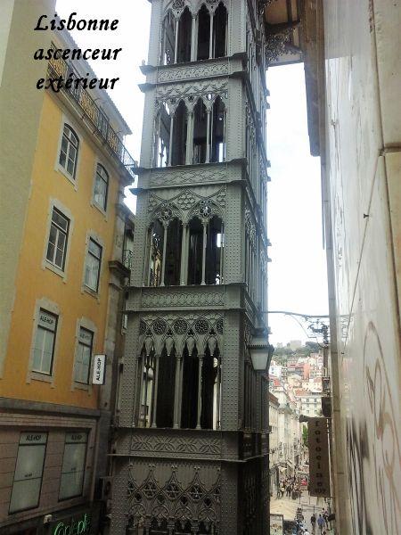 61 Lisbonne ascenseur