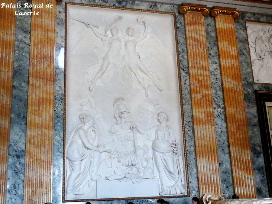 08 palais royal Caserte salle ornée pour Joachim Murat