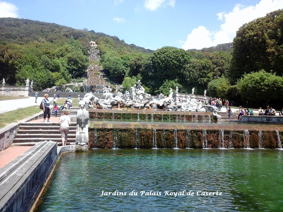 13 jardins palais royal caserte