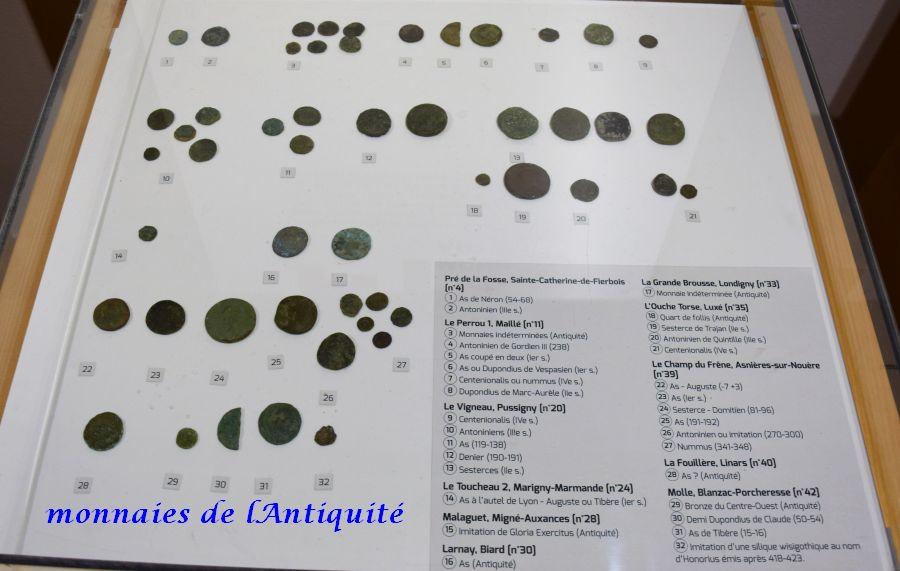 21 monnaies antiquité